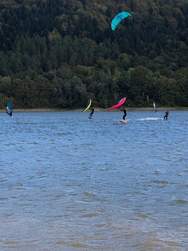 Wing surfing - nauka i pierwsze kroki - część 1
