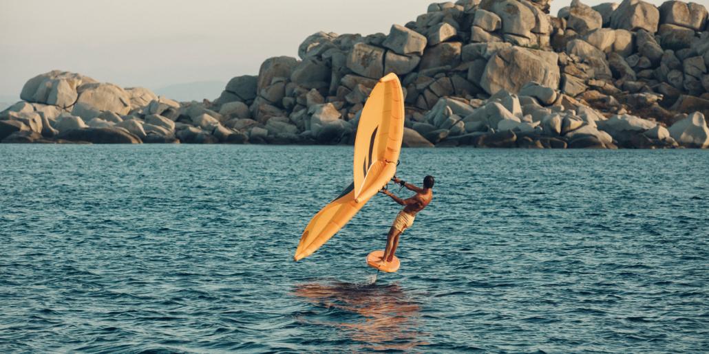 Wing surfing - nauka i pierwsze kroki – część 2